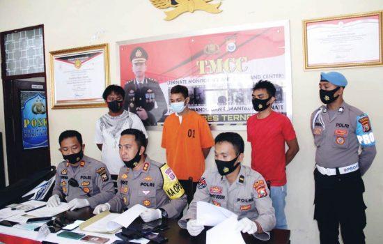 Spesialis Pencuri Barang Elektronik di Ternate Tertangkap, Berdalih untuk Bayar Kosan
