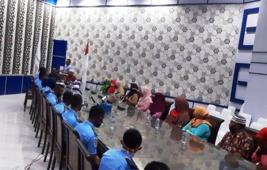 Taruna Politeknik KP Maluku Ikut Ujian Daring di Zona 10