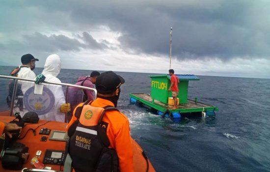 Hanyut, 2 Nelayan Ternate Diselamatkan Basarnas