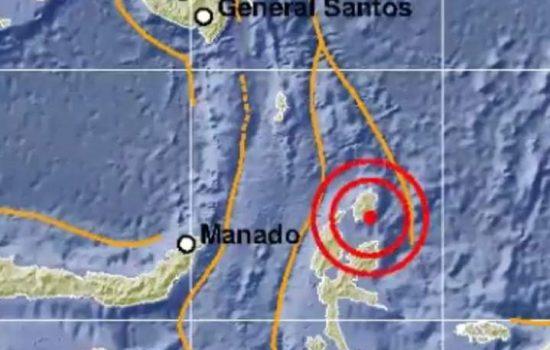 Gempa 4,1 SR Guncang Kota Daruba, Morotai