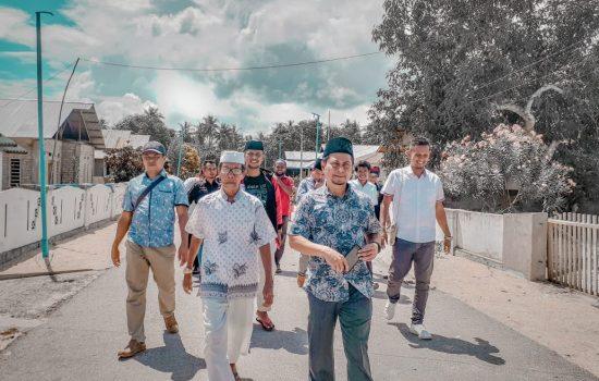 Sambangi 2 Desa di Pulau Mangoli, ZADI Penuhi Undangan Keluarga
