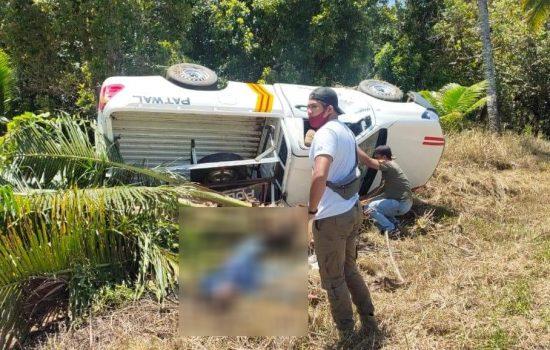 Mobil Satpol-PP Tabrak Pohon saat Jemput Pasien Karantina, Satu Tewas