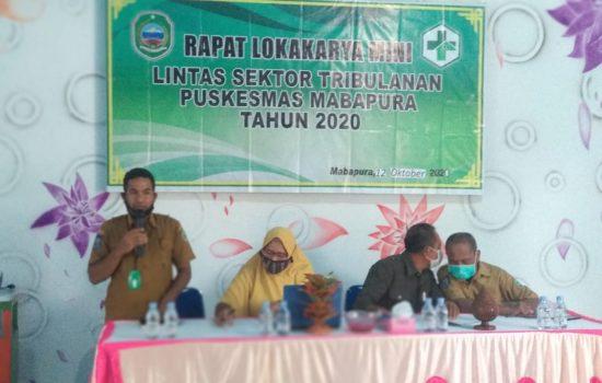 Laksanakan Lokakarya Mini, Pukesmas Mapra Maksimalkan Pelayanan Dasar