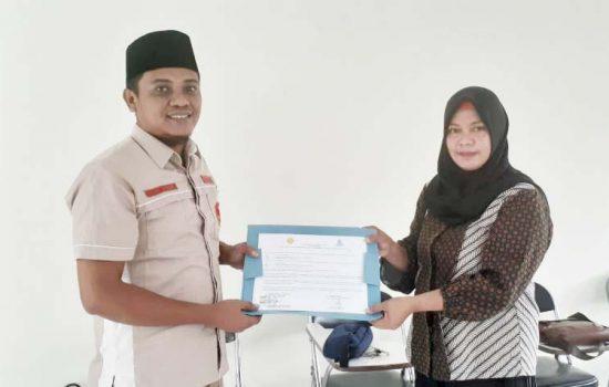 Pemuda Muhammadiyah Malut Teken MoU dengan BPP Distan Kota Ternate