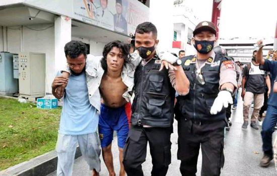 Diamankan Saat Aksi, 16 Mahasiswa di Ternate Diancam Pidana
