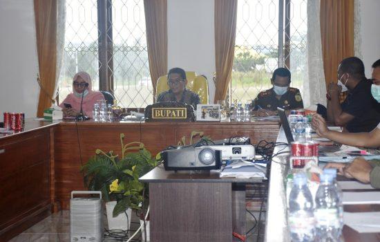 Pjs Bupati Taliabu Minta Forkopimda Tingkatkan Sosialisasi Penanganan Covid-19