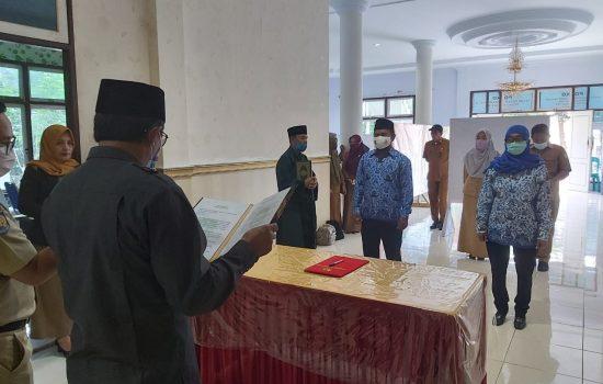 Rahwan K. Suamba Resmi Jabat Plt Karo PKKP Pemprov Maluku Utara