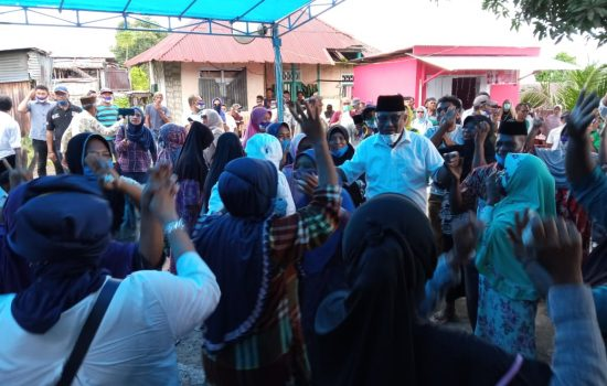 Pulang ke Faudu, YAMIN-ADA Disambut Tarian Deti