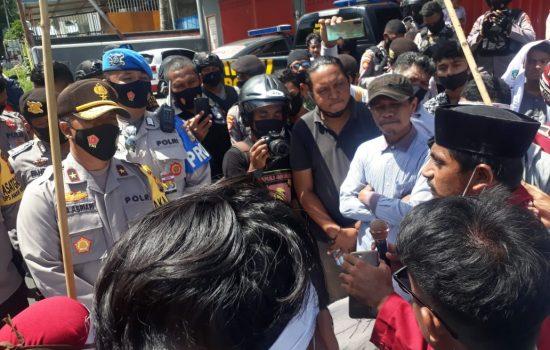 Unjuk Rasa, IMM dan KAMMI Kecam Tindak Represif Polisi terhadap Demonstran