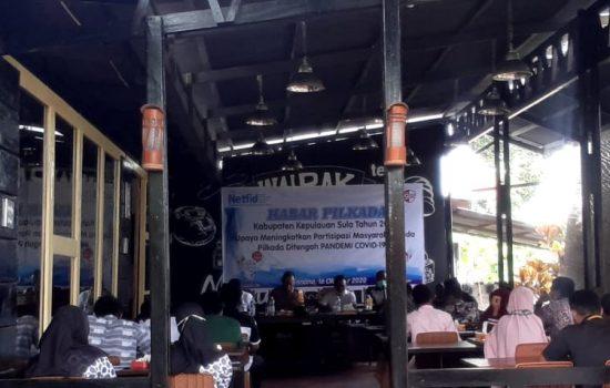 Netfid dan KPU Sula Ajak Masyarakat Suksesi Pilkada