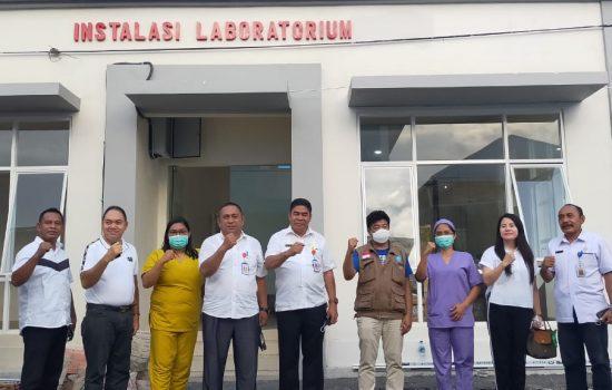 Bos NHM Beri Mesin RT-PCR ke RSUD Tobelo