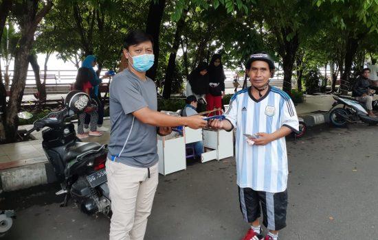 Gercin Malut Bagikan 1.000 Masker untuk Warga Ternate