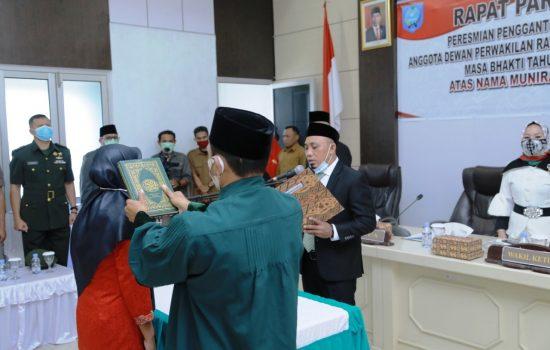 Gantikan Merlisa, Munira Sagaf Resmi Dilantik Jadi Anggota DPRD Kota Ternate