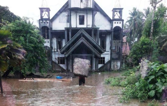 Sungai Nguailamo 'Mengamuk', 5 Desa di Halmahera Utara Terendam Banjir