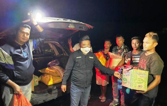 Perusahaan Tambang Emas Salurkan Bantuan untuk Korban Banjir Halmahera Utara