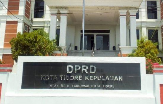 DPRD Tidore Usul Bentuk Pansus DID, Dana Covid-19, dan Pemberhentian Honorer