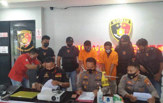 Polisi Tangkap Pelaku Pencurian Barang Elektronik Milik Gereja di Ternate