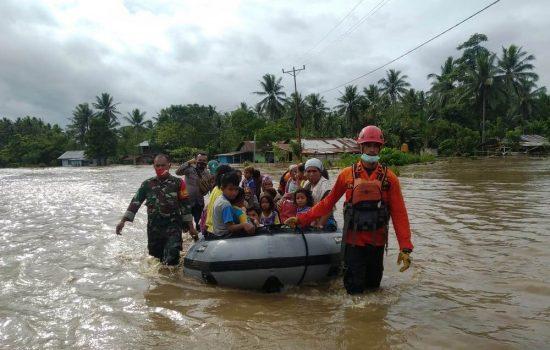 Banjir, 2.863 Warga Halmahera Utara Tidur di Pengungsian