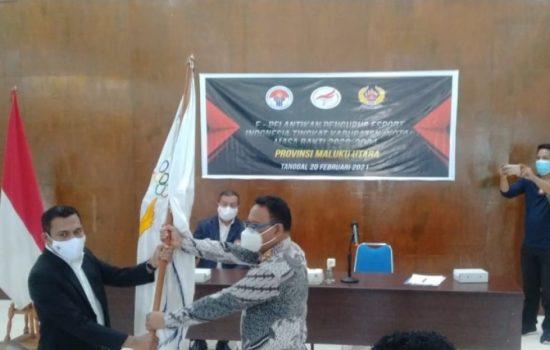 Sekda Maluku Utara Lantik Pengurus e-Sport Indonesia se-Malut