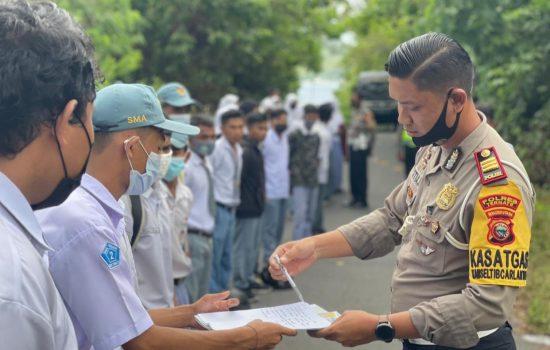 Konvoi Usai Ujian, 70 Siswa SMA di Ternate Digelandang ke Kantor Polisi
