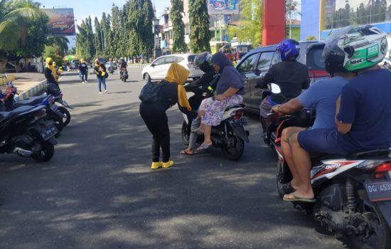 Jelang Sidang MK, Relawan MHB-GAS Gelar Aksi Simpatik