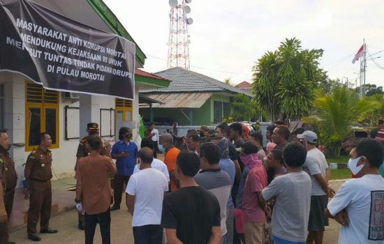 Organda Laporkan Indikasi Proyek Bermasalah di Dinas PU Morotai