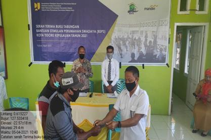 Kuker ke Malut, Kepala BP2P Maluku Tinjau Progres Pembangunan Rumah Susun