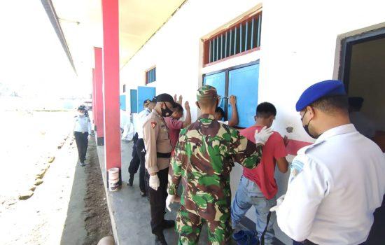 Razia di Lapas Jailolo, Petugas Temukan Gunting hingga Pisau Cutter