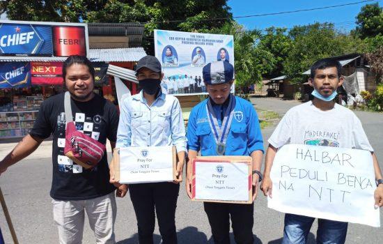 Peduli Korban Bencana NTT, GMKI Cabang Jailolo Galang Dana