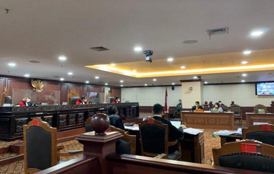 Tok! MK Tolak Gugatan Paslon JOS dalam Pilkada Halmahera Utara