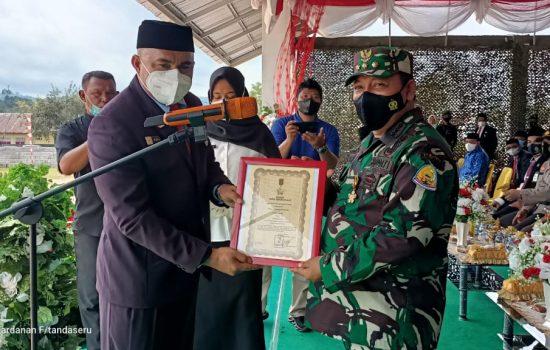 Kodim 1510 dan Pemda Sula-Taliabu Rayakan HUT TNI ke-76