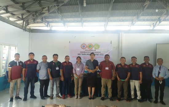 Gandeng Hipgabi Sulut, Stikma Halmahera Gelar Pelatihan BTCLS Mandiri